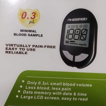 RHEAMED Blood Sugar Monitor – Glucometer