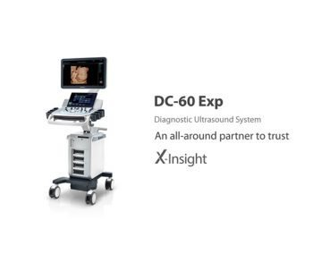 Mindray DC-60 Exp 4D Color Doppler Ultrasound System with X-Insight