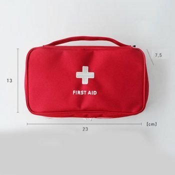 First Aid Kit Emergency Empty Medical Bag
