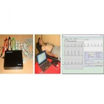 12 Channel PC Based ECG Machine BiBeat
