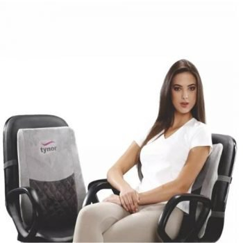 Tynor Back Rest for Car/Chair (Washable)