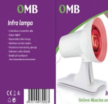 OMB Infrared lamp
