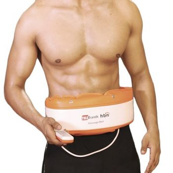 Telebrand HBN Massager Slimming Belt- White & Orange