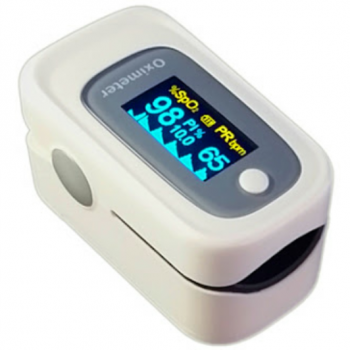 Fingertip Pulse Oximeter Blood Oxigen Spo2 PR Heart Rate Monitor
