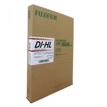 Fuji Medical Dry Imaging DI-HL Blue Base 10″x 14″ | 26 x 36 cm (100 sheets), Fuji DIHL-Japan (Lite))