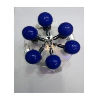 ECG Chest Electrode Blue