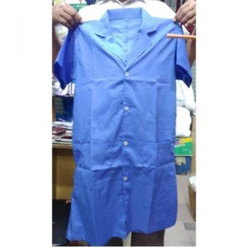 OT Dress - Fatuwa, Trouser, Mask ( Blue, White )