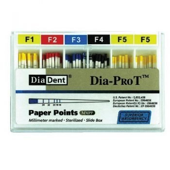 Dia-porT (Millimeters marked special Taper Absorbency Paper Points)