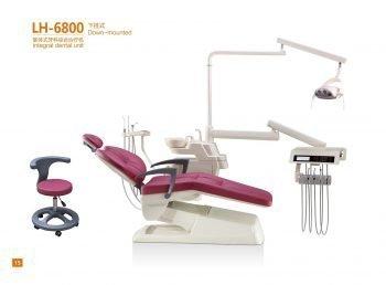 Adjustable Comfortable Integral Dental Unit Oral Comprehensive Treatment Table- LH-6800