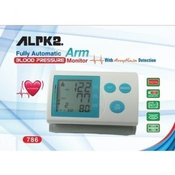 Full Automatic Arm Blood Pressure Monitor ALPK2-BP786