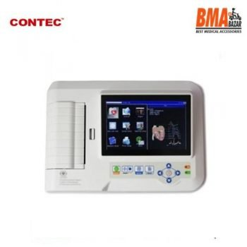 CONTEC Touch 6-Channel Elecreocardiograph 12-Lead ECG/EKG Machine + PC Software, ECG 600G