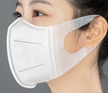 CSN Anti-Virus Disposable Mask 3D 3 ply Non Woven Face Mask Respirator for Daily for Daily Protection 50 pcs/Box