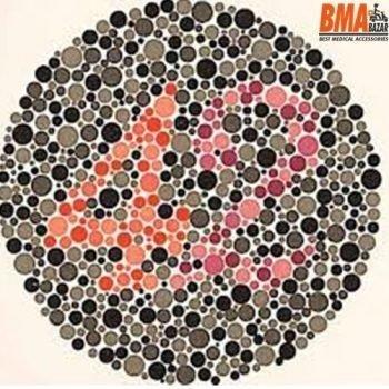 Ishihara Eye Chart