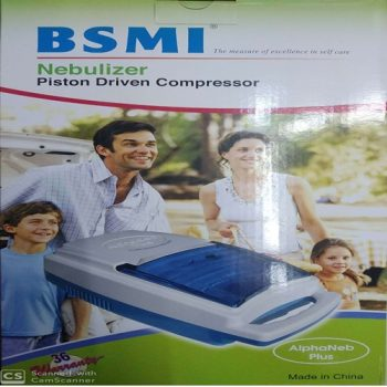 BSMI Piston Driven Compressor Nebulizer