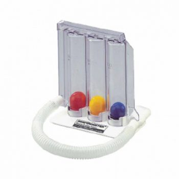 Romsons Respirometer Three Ball Breathing Exerciser