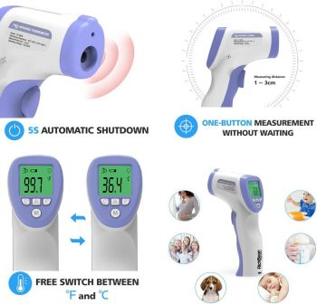Infrared Digital Thermometer DT-8826
