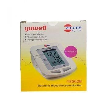 Yuwell YE660B Electronic Sphygmomanometer Household Blood Pressure Measuring Instrument Intelligent Pressure Large LCD Display