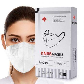 McCons KN95 Mask 10pcs/Box