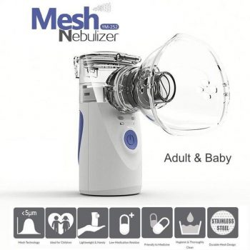 Mesh Nebulizer for Adult & Baby