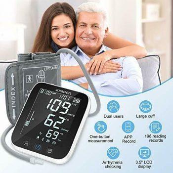 JUMPER JPD-HA121 Wireless Upper Arm Blood Pressure Monitor