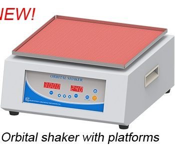 Orbital Shaker OS-350D With Clamps