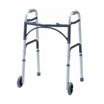Fordable Medical Walking Walker with wheel