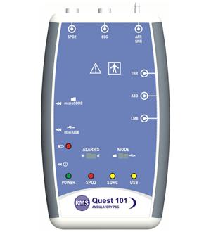 10 Channel Ambulatory PSG, RMS, Quest-101