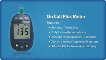 OnCall Plus Blood Glucose Monitoring System