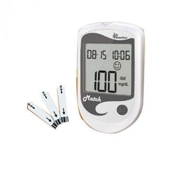 OKmeter Match Blood Glucose Monitoring Test Strips 25 PCS