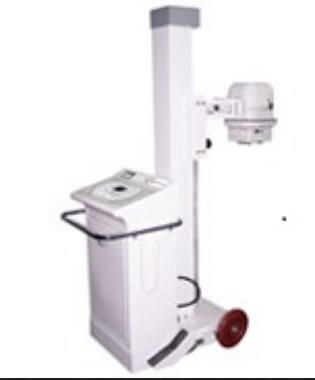 100mA, Mobile X-ray Machine with Anatomical Programs