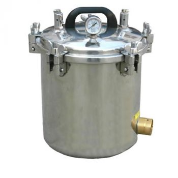 "Autoclave Portable Steam Sterilizer- 10""x12"" Electric Made In Bangladesh"