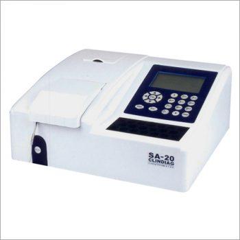 CLINDIAG SA-20 Semi Auto Biochemistry Analyzer