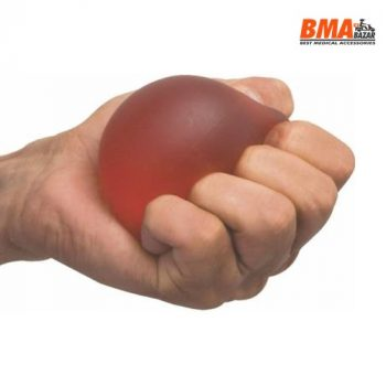 GEL EXERCISE BALL FOR HAND AND FINGER EXERCISE