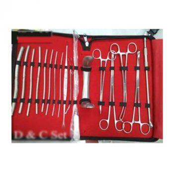 D & C Instrument Set