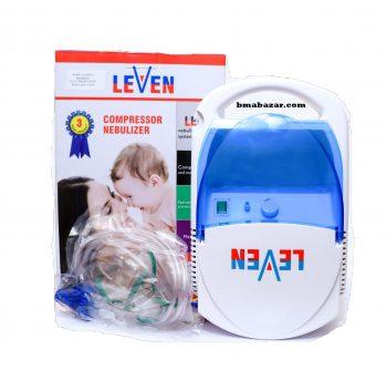 LEVEN Portable Compressor Nebulizar Machine for Child & Adults Nebulization
