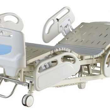 HR-858 hospital equipment medical Five Functions Electric Hospital ICU Bed for patient
