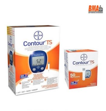 BAYER Contour TS Blood Glucose Meter Kit