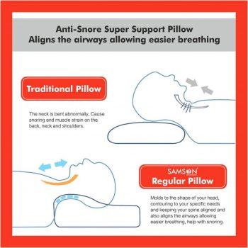 Samson Cervical Pillow Regular CA-0106