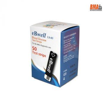 eBwell eB-W01 Blood Glucose Strips 50 pcs pack