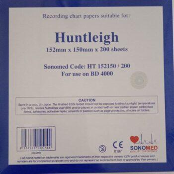 CTG Paper Huntleigh (152mm X150mm X200sh)